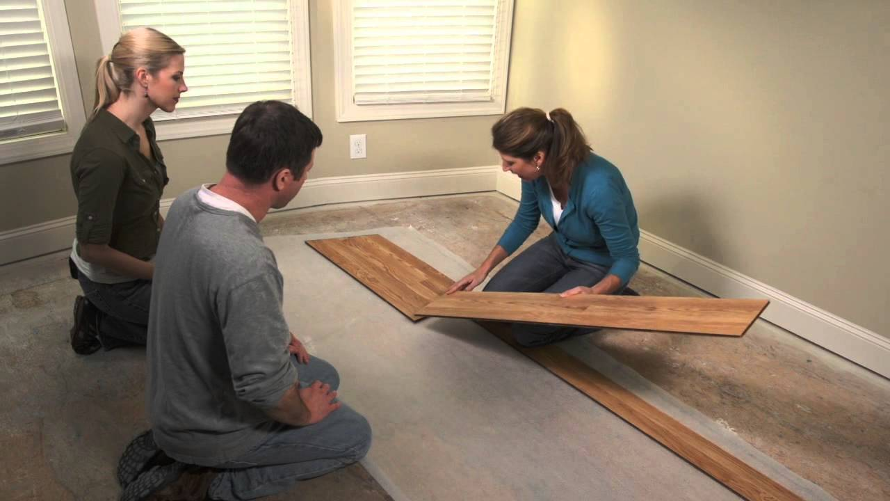 How To Install Pergo Flooring Chapter 5 Installing