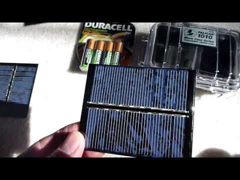 Mini Solar Powered USB Charger - Part 1