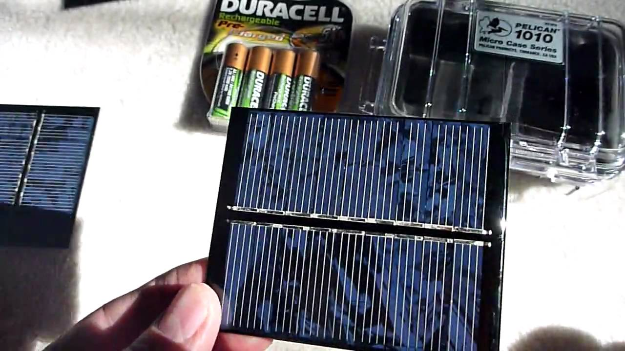 Solar Powered Auto Battery Charger Review How To Make