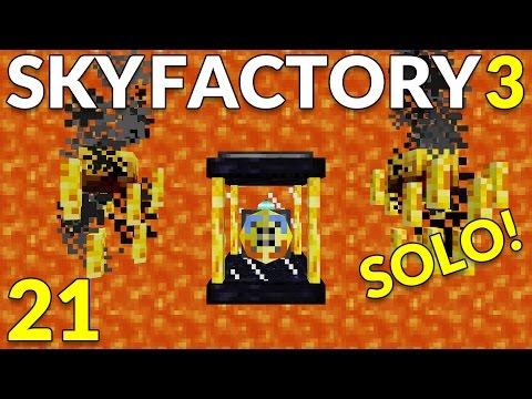 Sky Factory 3 21 Lava Overload!