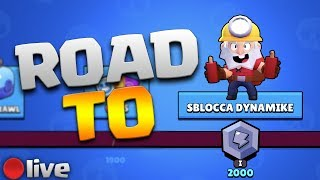 ROAD TO DYNAMIKE - TROPPI TOKEN! - Brawl stars Ita