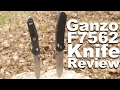 Ganzo F7562 Knife Review.  With Benchmade 940 Comparison.