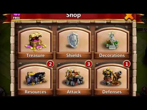 Castle Clash: How To Make A New Account On IOS + Start With 450 Gems