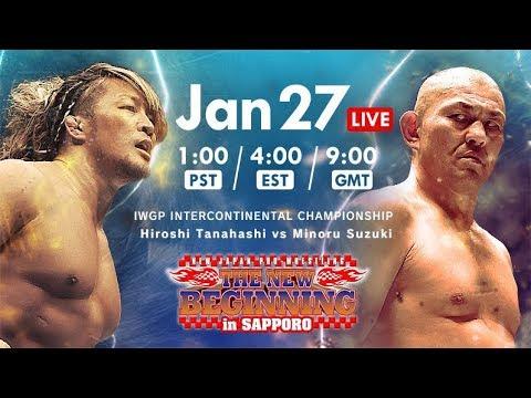 【Live】THE NEW BEGINNING in SAPPORO, Jan 27, Sapporo・Hokkaido Prefectural Sports Center North Sea