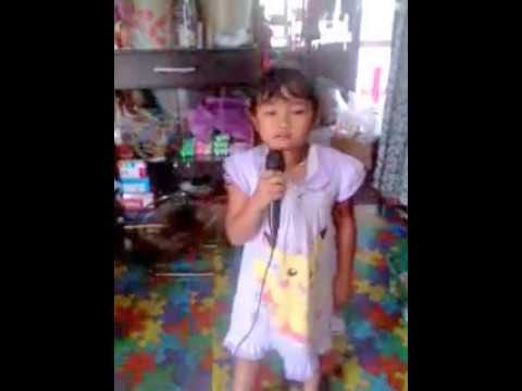 anak kecil nyanyi lagu barat