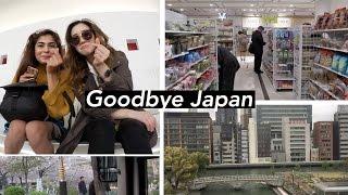 Japan Vlog #6 | Leaving Osaka and Flying Back to Seoul 🇰🇷