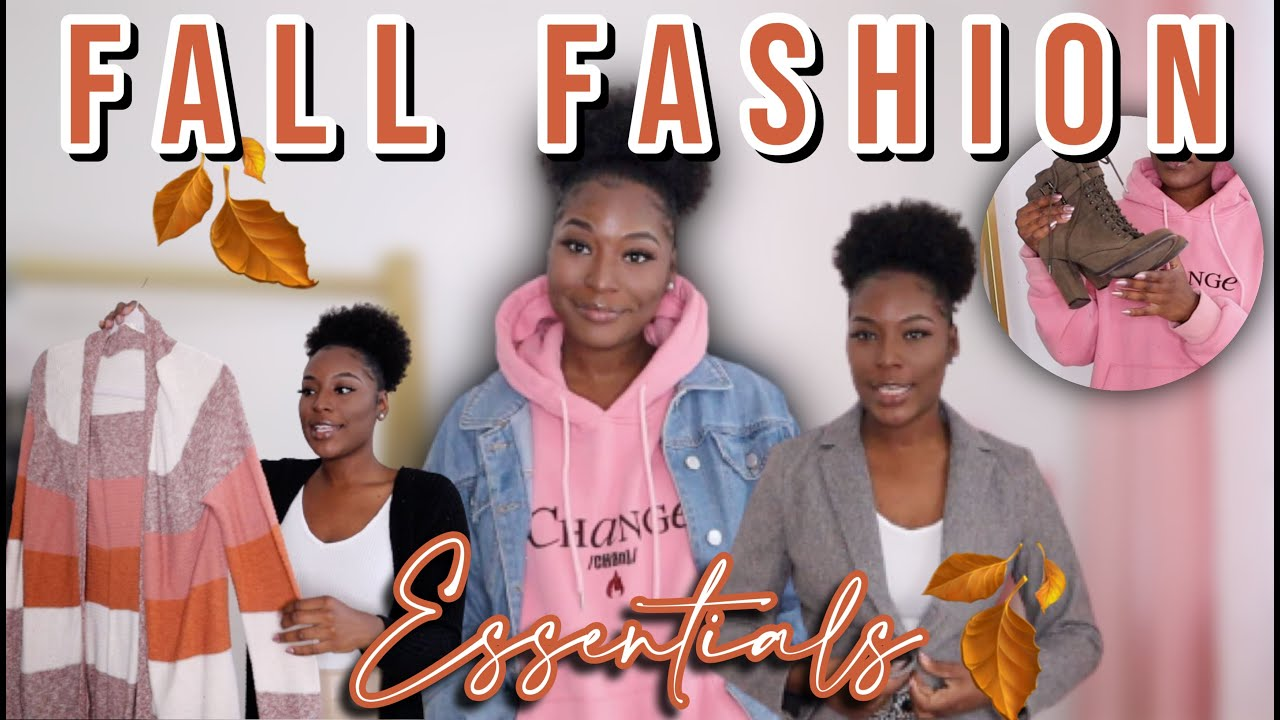 FALL FASHION ESSENTIALS 2021! | ITEMS YOU NEED IN YOUR CLOSET THIS FALL 🍂