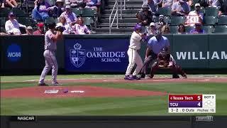 Texas Tech vs TCU Baseball Highlights - Apr. 29
