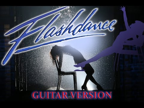 FLASHDANCE Maniac Guitar version