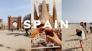 SPAIN TRAVEL VLOG Barcelona