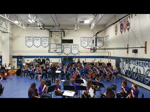 "Clintonville Strings Festival 2019 - ""A Knight's Quest"" performed by Dominion Middle School orchestr"