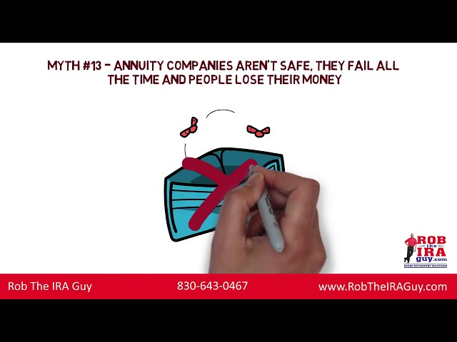 Annuity Myths (Lies) People Will Tell You: 11-15