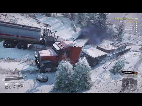 №31 SNOWRUNNER V.4.9 КАРТА ШТАТ АЛЯСКА СТРИМ