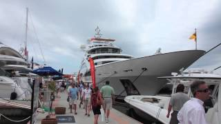 Diamonds are Forever at the 2013 Palm Beach Boat Show.