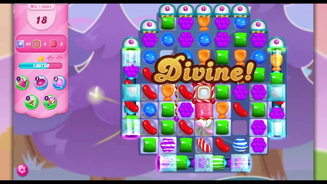 Download Candy Crush Saga Level 9981 - NO BOOSTERS