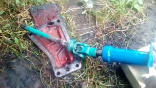 установка насоса дозатора на ЮМЗ 6. Пошаговая инструкция. Часть 1