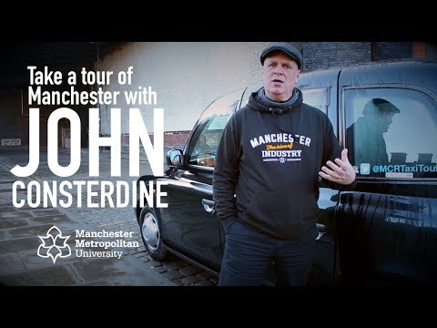 Take a tour of Manchester with John Consterdine