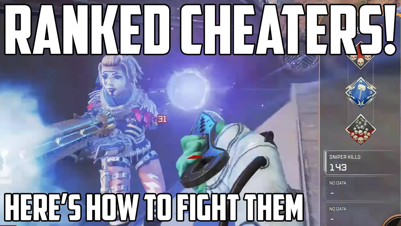 Apex Legends Cheaters In Ranked Queue How To Fight Against Them Apex Legends Gameplay