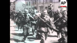 German Troops Advance  in Luxembourg and  Holland, 1940
