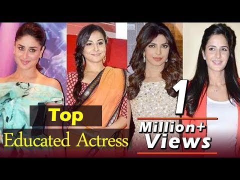 The Most Educated Actresses of Bollywood