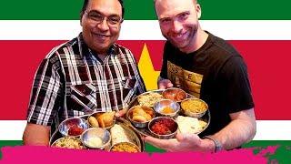 Mind-Blowing INDIAN THALI in SURINAME at Martin House of Indian Food   Paramaribo, Suriname