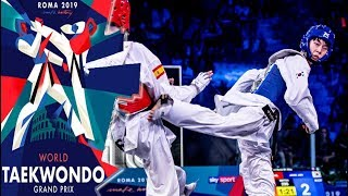 Gambar cover [Roma 2019 World Taekwondo Grand-Prix] M-58kg Final - JANG Jun(KOR) vs TORTOSA CABRERA Jesus(ESP)