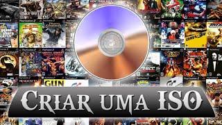 Como passar jogos do CD/DVD para o computador (Criar uma ISO) UltraISO