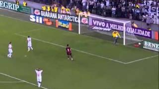Flamengo 5 X 4 Santos - 27-07-2011 -  Melhores Momentos - Brasileirão 2011