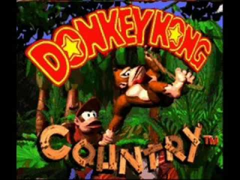 Donkey Kong country-Funky Kong music