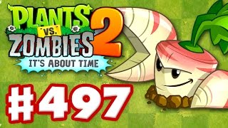 Plants vs. Zombies 2: It's About Time - Gameplay Walkthrough Part 497 - Parsnip! (iOS)