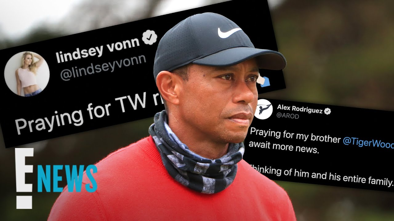 Tiger Wood's Car Accident: Celebrities React