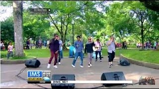 T Five - Raja Chatting - Live at Indonesia Morning Show