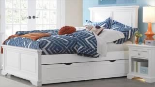 Daisy Panel Kids Bed, White