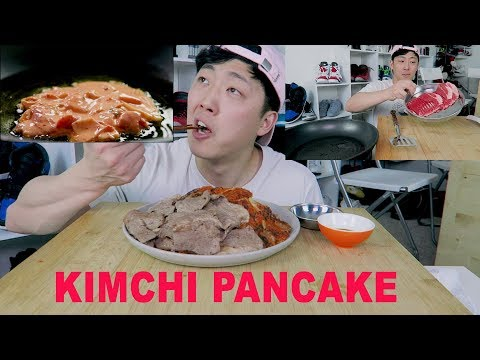 Korean Kimchi Pancake