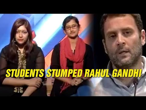 Meet The Students Who Stumped Rahul Gandhi