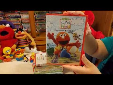 Kiana's Elmo's World Dvd Collection! Part 2