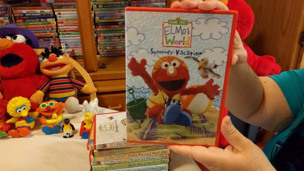 Kianas Elmos World Dvd Collection Part 2