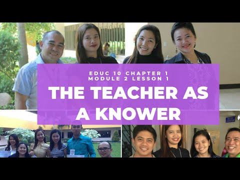 THE TEACHER AS A KNOWER OF CURRICULUM | EDUC 10 CHAPTER 1 MODULE 2 LESSON 1 | Maiet Sangco