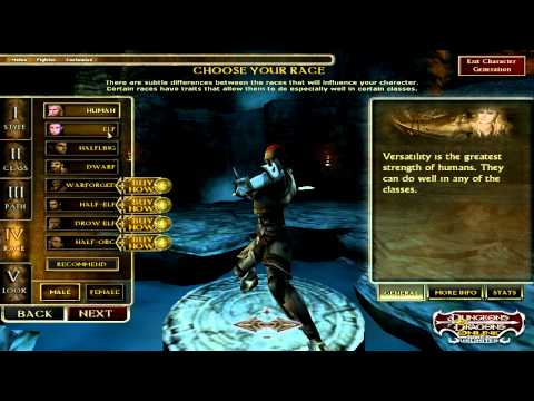 Dungeons and Dragons Online Character Classes