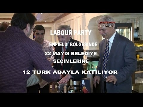 Edmonton Labour Party Local Elections 2014 Support Dinner With Turkish Speaking Candidates HD