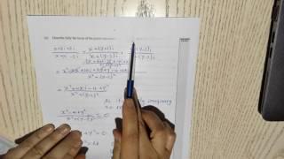 Complex Number exam 2013 NCEA