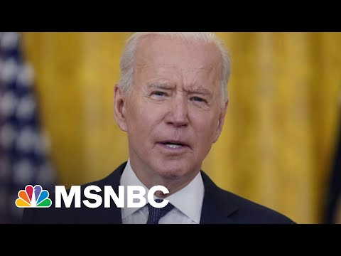 President Biden's Approval Numbers At 63 Percent In New Polling   Morning Joe   MSNBC