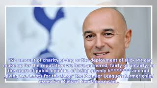 What Tottenham's Daniel Levy said about ticket prices