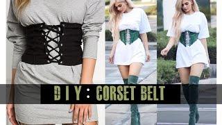 DIY Corset Belt (easy)