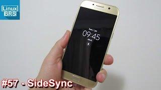 Samsung Galaxy A5 2017 - SideSync (espelhamento de tela)