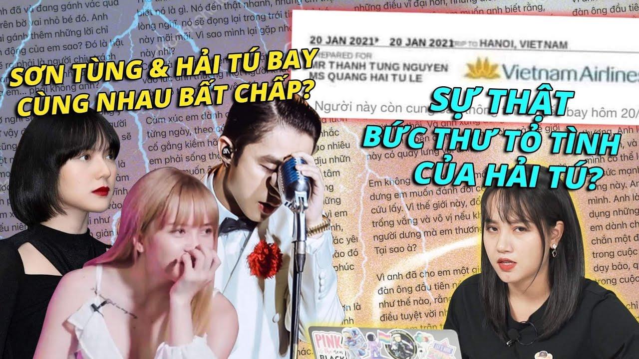 Drama Trà Xanh #3: Sơn Tùng & Hải Tú bay cùng nhau bất chấp?   Sự thật bức thư tỏ tình của Hải Tú?