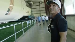 Yoshimura Suzuki's Toni Elias Visits NASA - Johnson Space Center