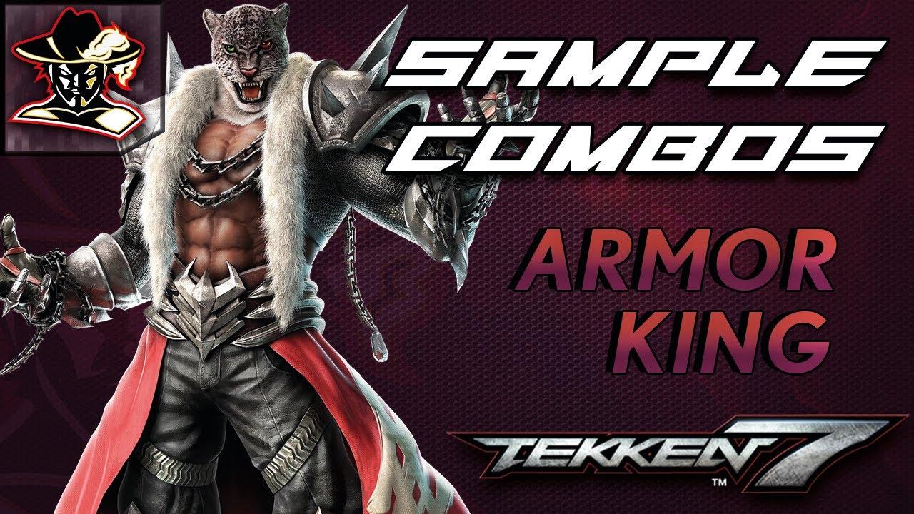 Tekken 7 Armor King Staple Combos Youtube