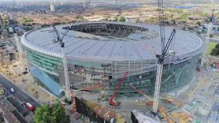 13/07/18 Tottenham Hotspur New Stadium 360 birds eye view