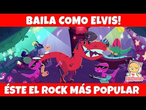 Dino Rock - Baila Como Elvis | HiDino canciones para niños